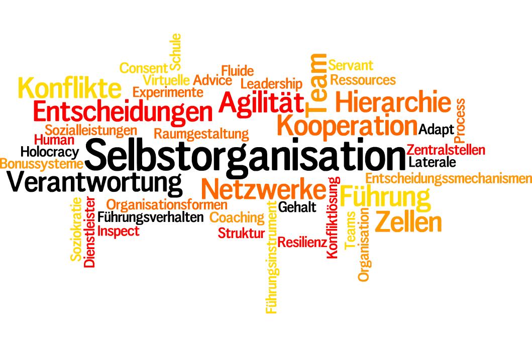 Tagcloud Selbstorganisation