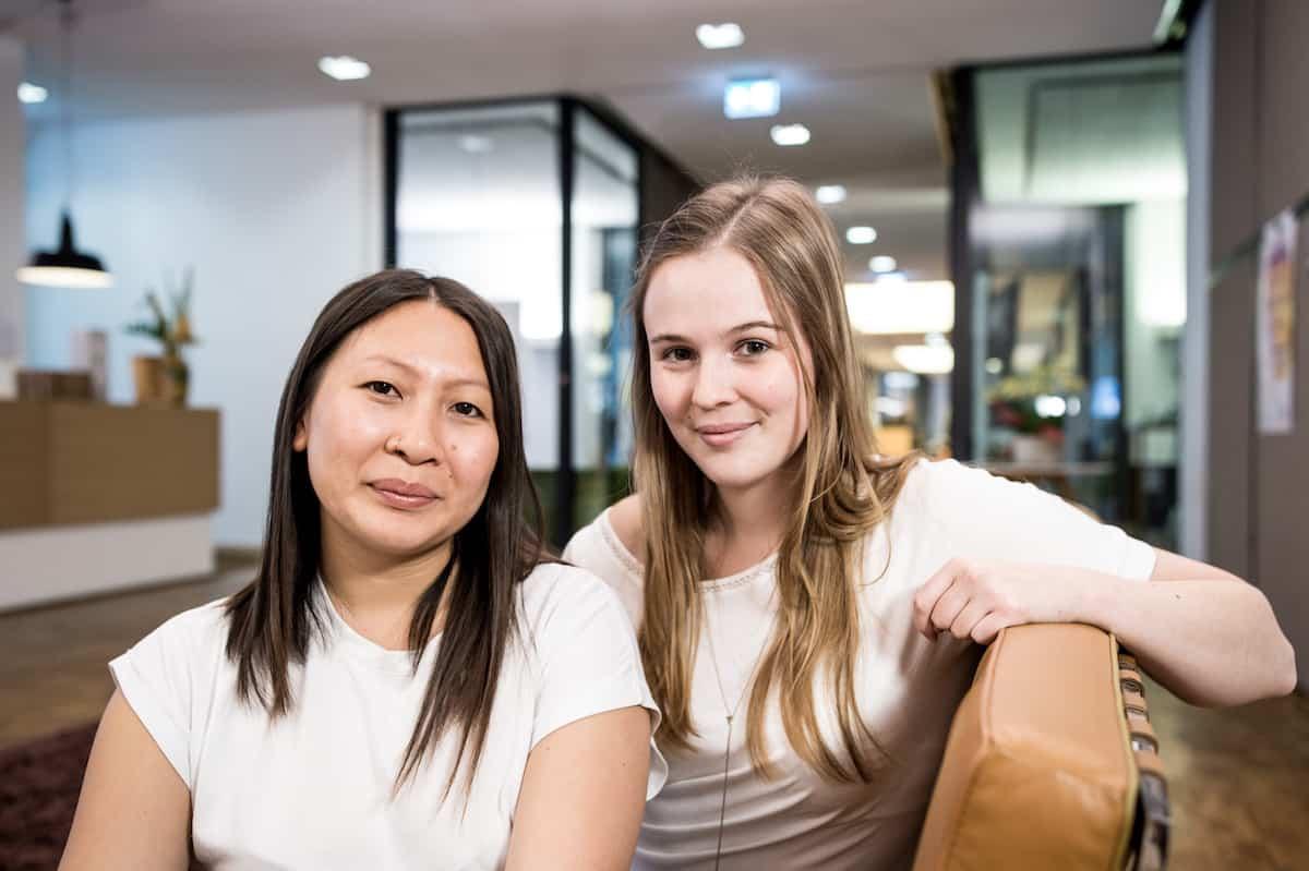 Carina Visser und Thu Huyhn Anh von sipgate
