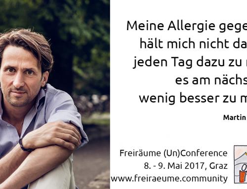 Der Bäcker Martin Auer @ Freiräume (Un)Conference