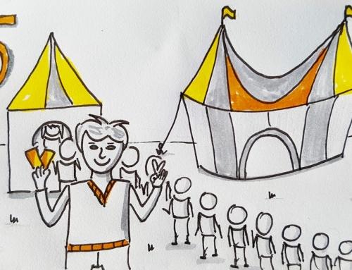 Jetzt aber schnell – nur noch 15 Tickets für den Zirkus Freiräume!