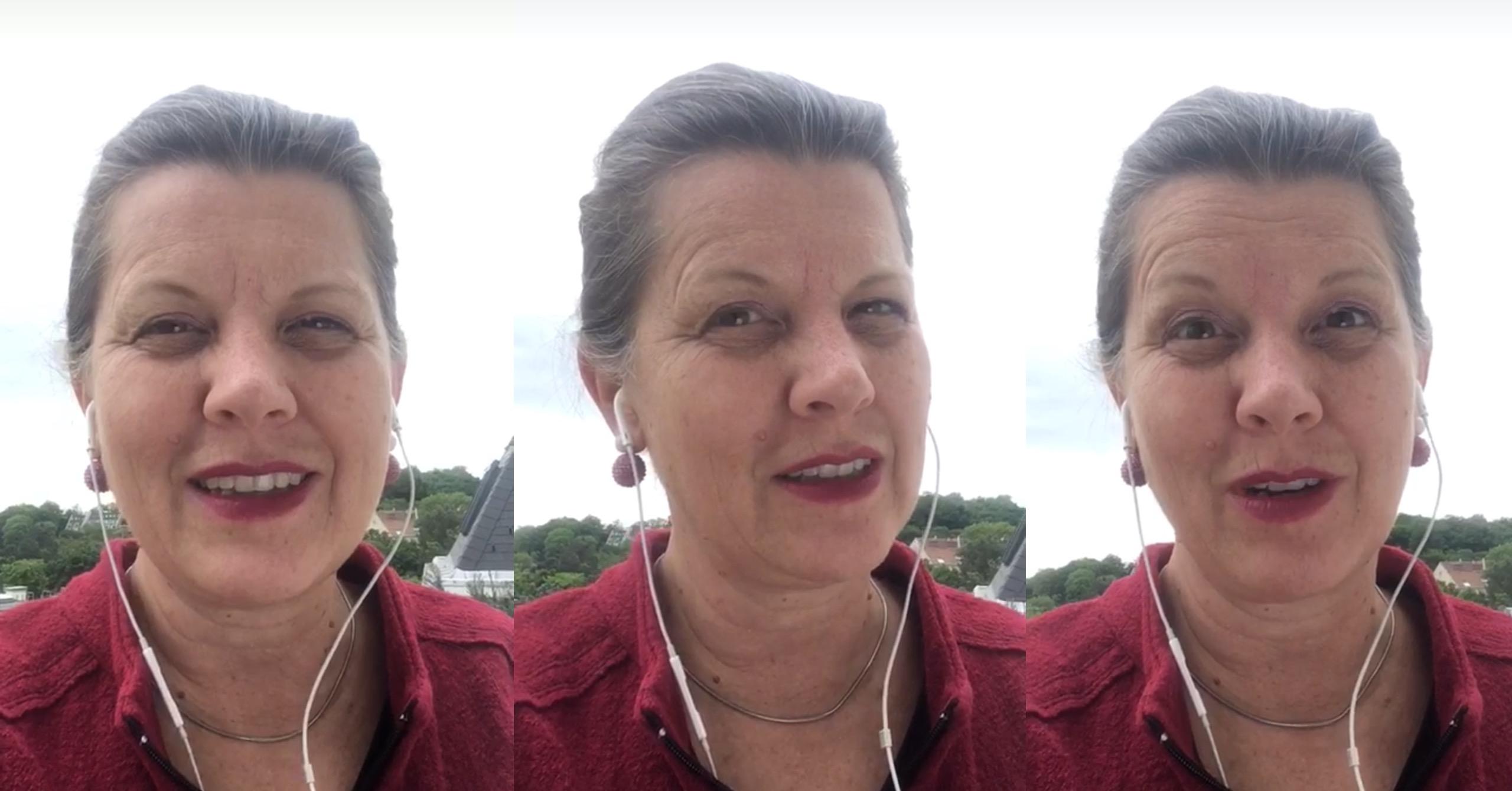 Boschafterin Irene Kernthaler Moser zu den digitalen Freiräumen 2020